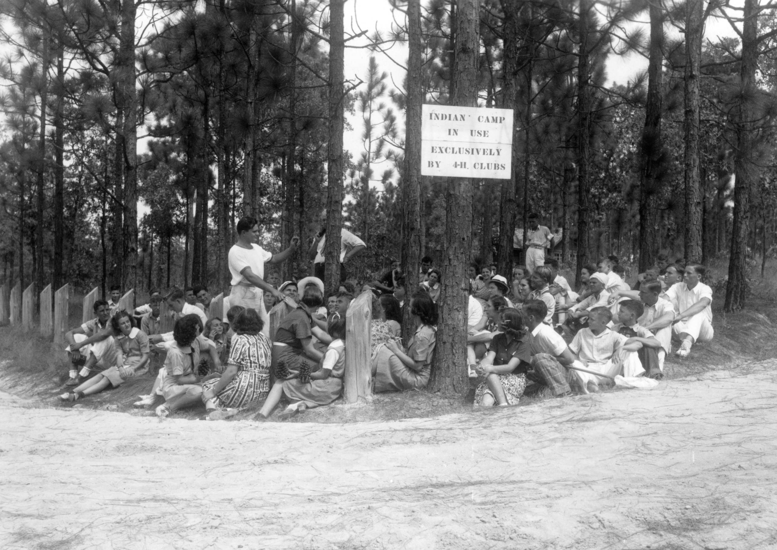 Wildlife Conference, Indian Springs, 1938