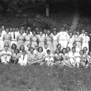 4-H club members at John's River Camp