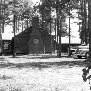 Exterior of building at Millstone 4-H Camp