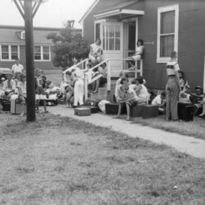 4-H Honor Club at Manteo, North Carolina, 4-H Camp