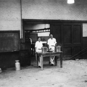 Wayne County, North Carolina dairy demonstration team, North Carolina State 4-H Short Course, 1937