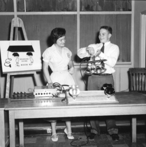 4-H club poultry demonstration team, 1957