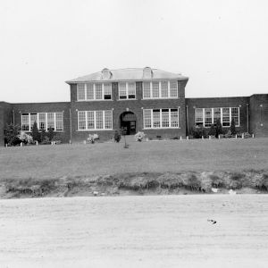 Beautification of school grounds, Cleveland County, North Carolina