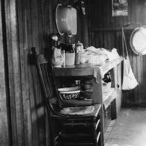 Picture of a kitchen in Pamlico County, North Carolina, before a 4-H kitchen improvement project