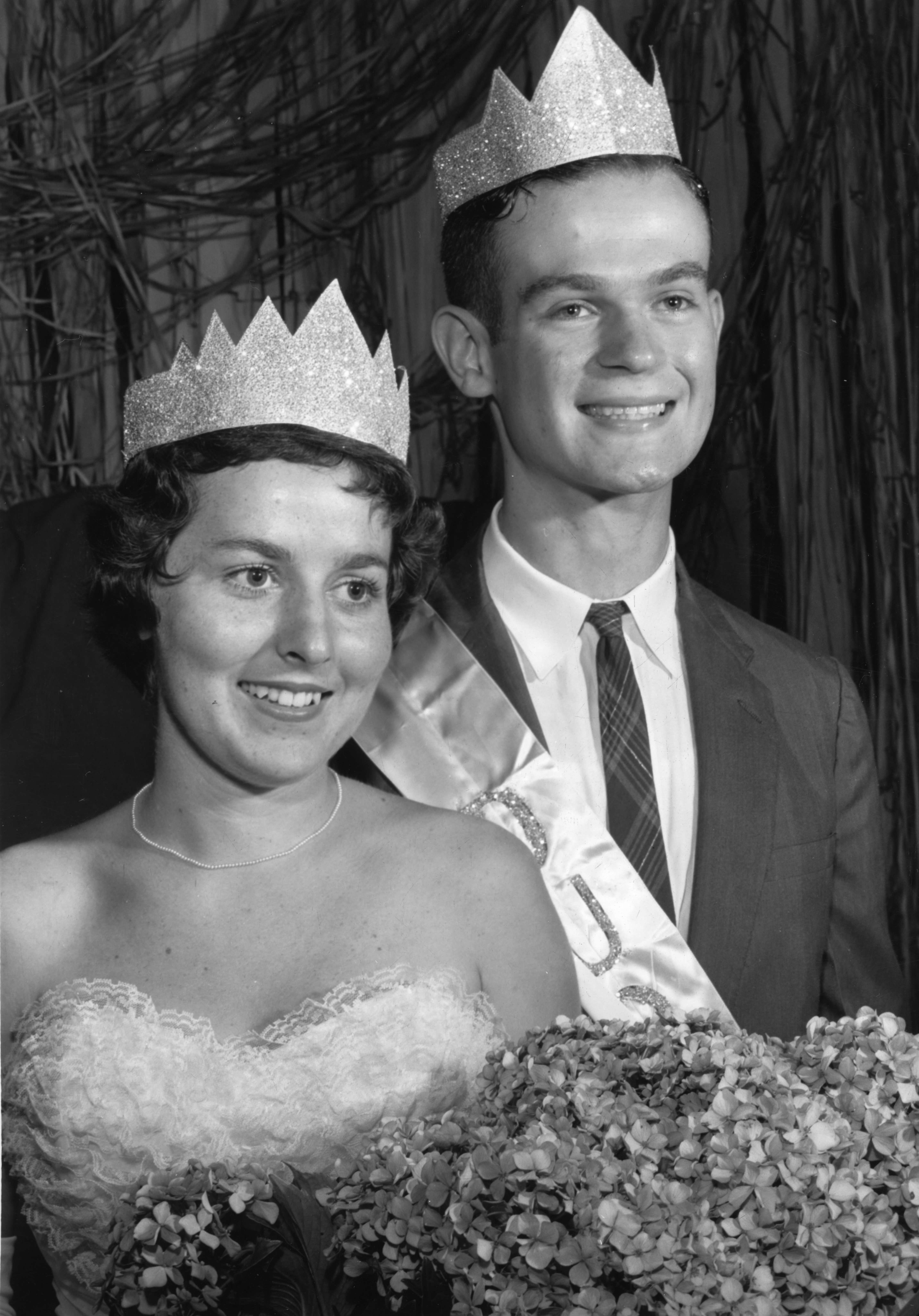 North Carolina State 4-H Club king and queen of health