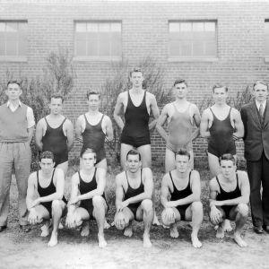 N. C. State swim team, 1935
