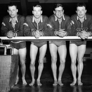 N. C. State All-American relay team 1962