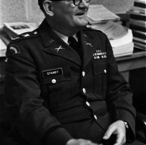 Lieutenant Colonel Roderick A. Stamey, Army ROTC