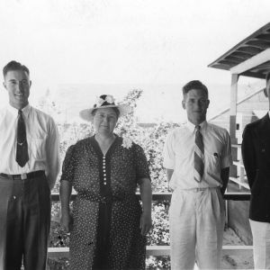 Manley White Family of Craven County - June, 1940
