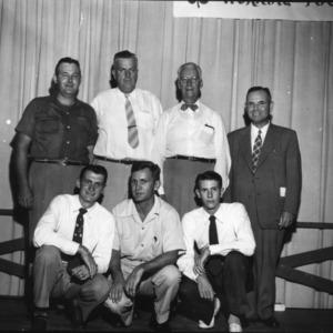 4-H club members attending North Carolina State 4-H Club Week