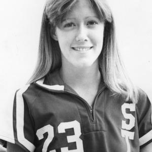 Gennie Jordan, No. 23, N.C. State University women's basketball