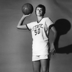 #50 Genia Beasley, N.C. State University women's basketball