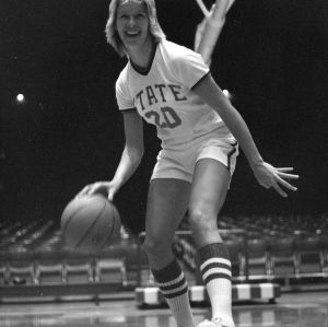 Kaye Young, No. 20, N.C. State University women's basketball