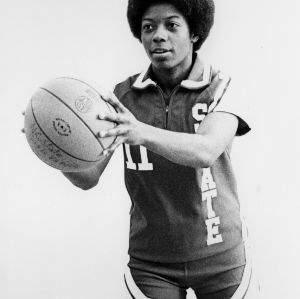 Cynthia Steele, No. 11, N.C. State University women's basketball