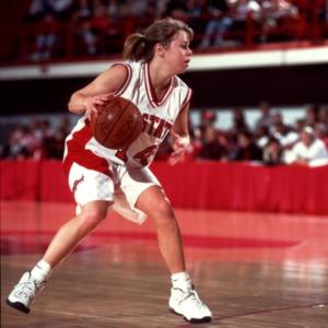N.C. State's #14 Jennifer Howard on offense