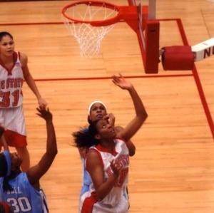 N.C. State University women's basketball team vs. University of North Carolina at Chapel Hill