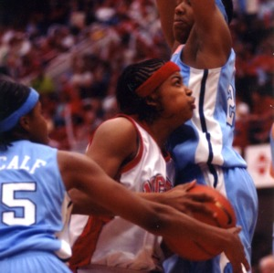N.C. State University women's basketball team vs. University of North Carolina at Chapel Hill