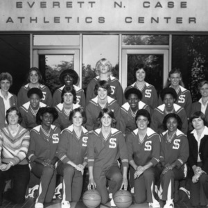 1981-1982 N.C. State University women's basketball team