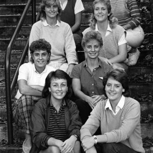 N. C. State women's golf team, 1986
