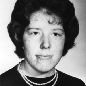 Anne Lewis of Wayne County, North Carolina, a member of the 4-H grooming program, part of the health and safety program