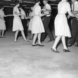 4-H club members dancing together