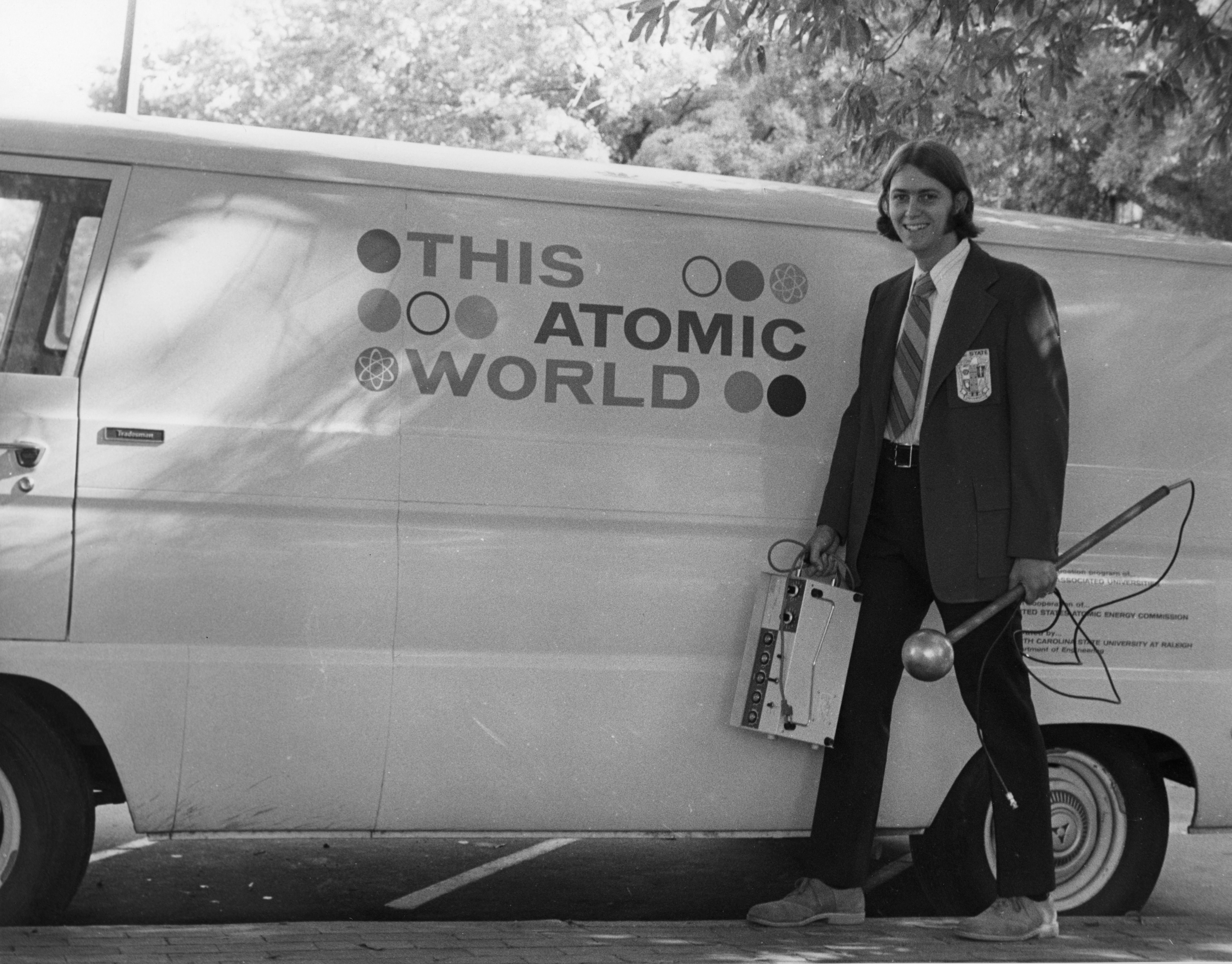 "Unknown person with ""This Atomic World"" traveling demonstration program"
