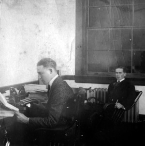 Manager and editor of the Red and White, 1916