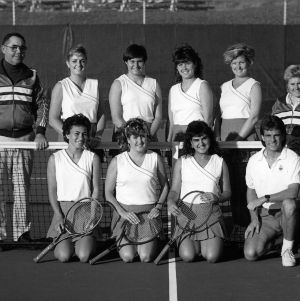 N. C. State women's tennis team, 1988