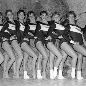 N. C. State gymnastics team, 1987