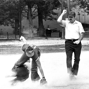 Women's softball game
