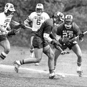 N. C. State  lacrosse game versus Duke