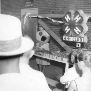 First North Carolina State 4-H Club strawberry show, Guilford County, North Carolina, May 21, 1958