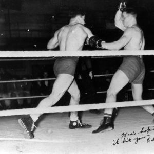 Boxing match, 1937