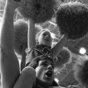 Wolfpack mini cheerleader
