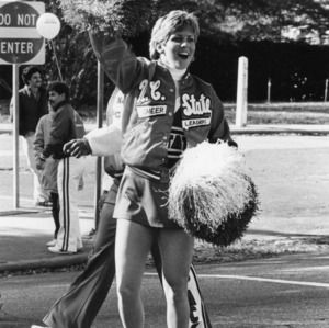 Joe McCoy in the Homecoming parade