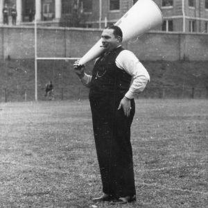 J. C. Richmond, honorary cheerleader