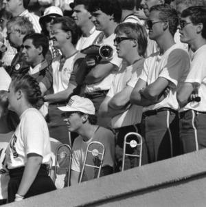 N. C. State band at Duke football game