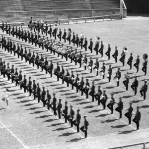 N. C. State marching band