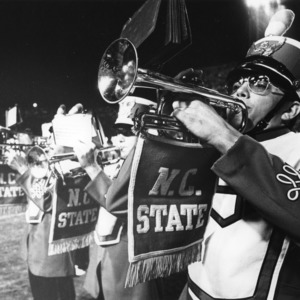 N. C. State trumpet players