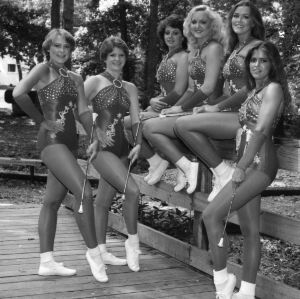 1982 Wolfpack majorettes