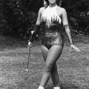 Majorette Cheryl Lynn Boswell