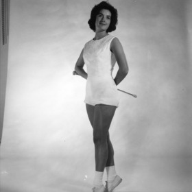 Majorette Peggy Hollingsworth