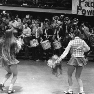 N.C. State pep rally, 1974