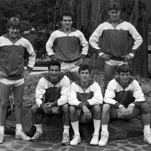 N. C. State gymnastics team, 1986