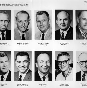 N. C. State coaching staff, 1964