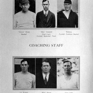 N. C. State coaching staff, 1920