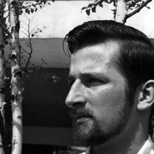 Landscape architecture student Warren Edwards (Class of '58)