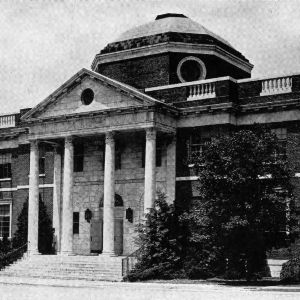 Brooks Hall, NC State's original library