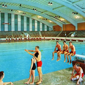 Natatorium Carmichael Gymnasium North Carolina State College