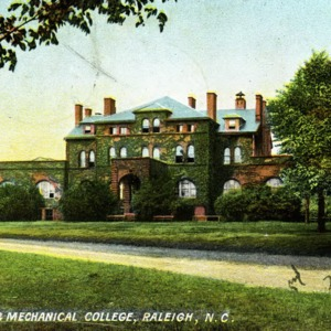 Agricultural and Mechanical College, Raleigh, North Carolina